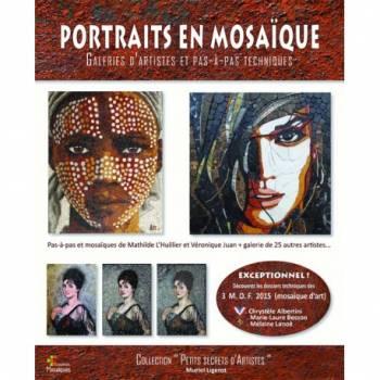 Portraits en mosaïque de Muriel LIGEROT